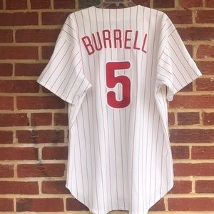 Burrell Russell Vtg Diamond Collection Jersey